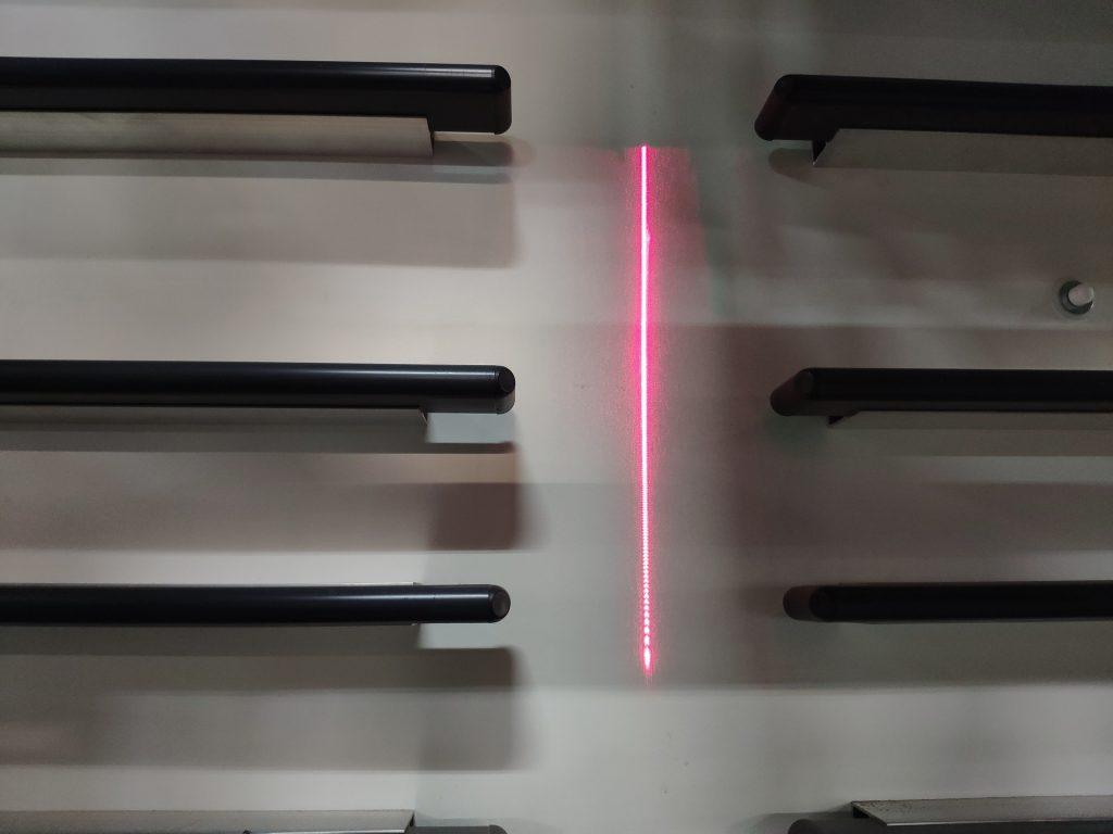 indicatore laser Elcon